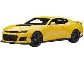 Chevrolet Camaro ZL1 Bright Yellow 1/18 Diecast