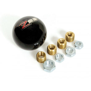 "Camaro Shift Knob Black Billard | ""Z28"" Logo 
