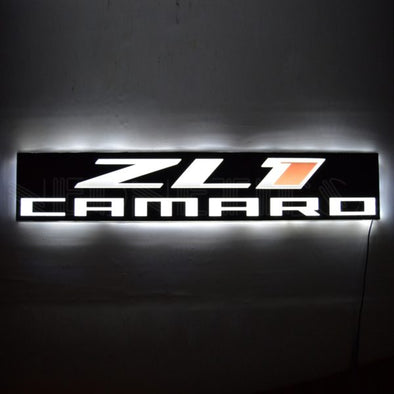 Chevy Camaro ZL1 Slimline LED Sign