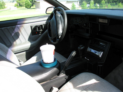 Camaro Console Lid | Padded With Cup Holder |1982-1992