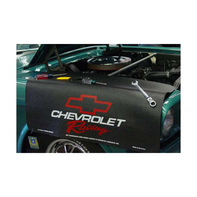 Chevrolet Racing / Bowtie Logo Gripper Fender Cover/Mat