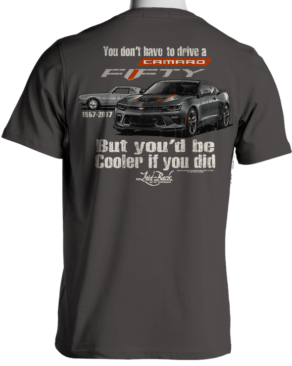 Cooler Camaro Fifty-Men's Chill T-Shirt