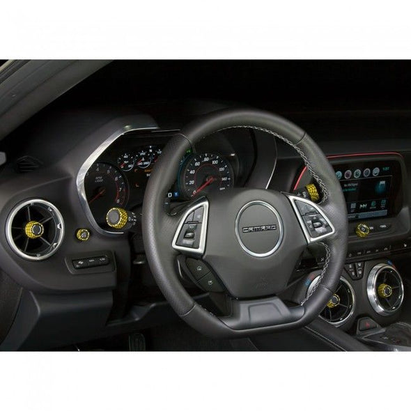 Chevrolet Camaro Gen 6 Interior Knob Kit (Carbon Fiber)
