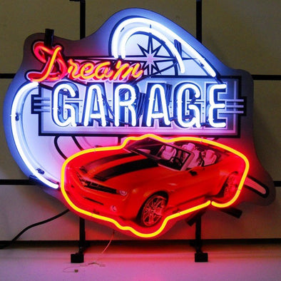 Dream Garage GM Camaro Neon Sign (Chevy)