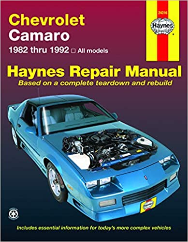 Chevrolet Camaro (82-92) Haynes Repair Manual