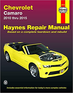 Chevrolet Camaro (2010-2015) Haynes Repair Manual