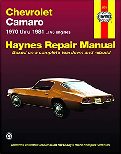 Chevrolet Camaro (1970-1981) Haynes Repair Manual