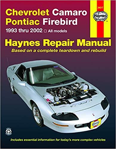 Chevrolet Camaro & Pontiac Firebird (1993-2002) Haynes Repair Manual