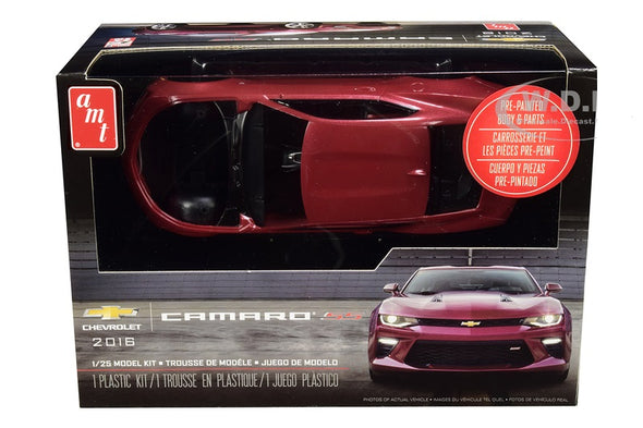 Skill 2 Model Kit 2016 Chevrolet Camaro SS 1/25 Diecast