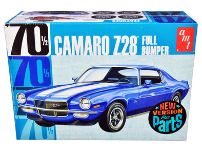 Skill 2 Model Kit 1970 1/2 Camaro Z28 Full Bumper 1/25 Diecast