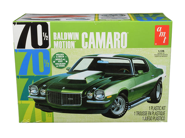 1970 1/2 Camaro Skill 2 Model Kit Baldwin Motion1/25 Scale