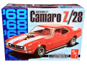 Skill 2 Model Kit 1968 Chevrolet Camaro Z/28 2-in-1 Kit 1/25