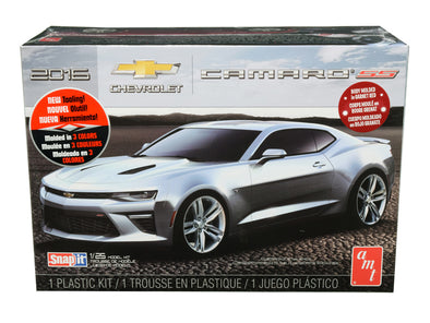 2016 1/2 Camaro SS Skill 1 Snap Model Kit Baldwin Motion1/25 Scale