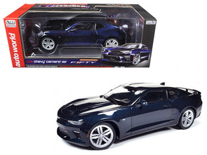 2016 Camaro SS Blue Velvet Metallic 50th Anniversary Limited Ed 1/18 Diecast
