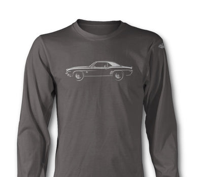 1969 Chevrolet Camaro SS Coupe Long Sleeve T-Shirt