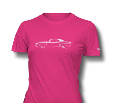 1969 Chevrolet Camaro SS Coupe Ladies T-Shirt