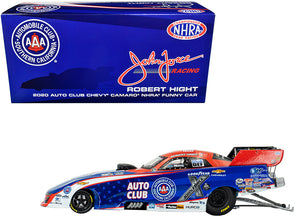 "2020 Camaro #1 Robert Hight ""AAA"" NHRA Funny Car 1/24 Diecast"