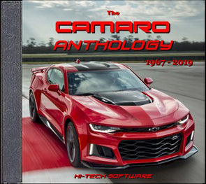 Camaro Anthology 1967-2019 DVD