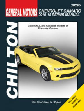 Chevrolet Camaro (2010-2015) Chilton Repair Manual