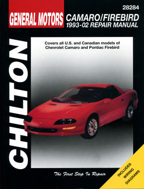 Chevrolet Camaro/Firebird (1993-2002) Chilton Repair Manual