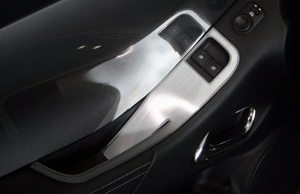 2010-2011 Camaro Door Handle Pull / Switch Deluxe Trim Plate | 2Pc | Coupe only