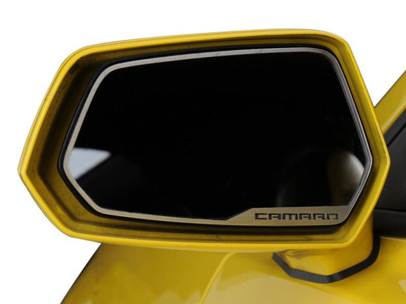 "2010-2013 Camaro - Side View Mirror Trim ""Camaro"" 