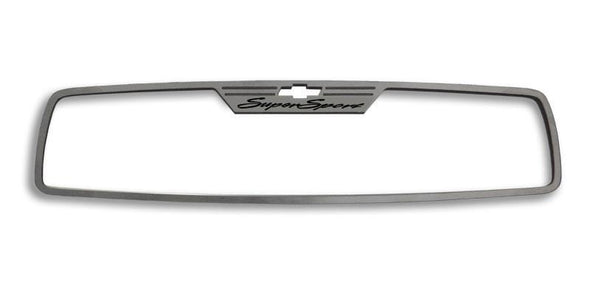 "2010-2014 Camaro - Rear View Mirror Trim ""Super Sport"" 