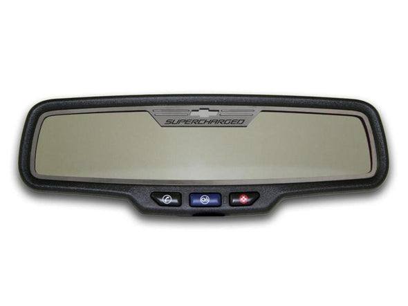 "2012-2013 Camaro - Rear View Mirror Trim ""Supercharged"" 