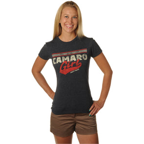Camaro Girl Ladies Tee