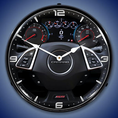 Lighted 2017 Camaro Dash Clock