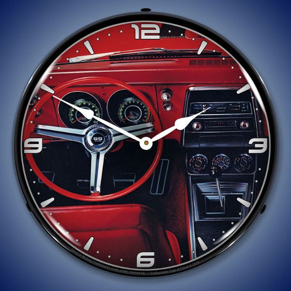 Lighted 1967 Camaro Dash Clock