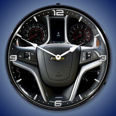 Lighted 2013 Camaro Dash Clock