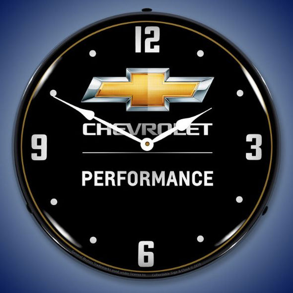 Chevrolet Performance 2 Lighted Clock