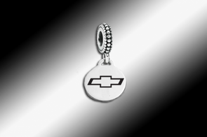 Chevy Bowtie Emblem | Pandora-Style | Dangle Bead