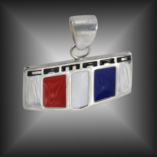 Camaro Badge Pendant | Sterling Silver