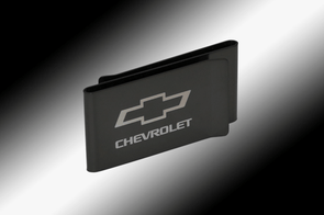Chevrolet Bowtie Double Sided Money Clip
