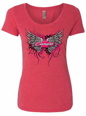 Ladies Camaro Wings T-Shirt