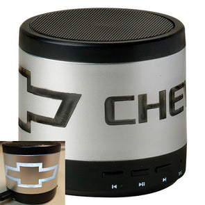 Chevrolet Bowtie Illuminating Wireless Speaker