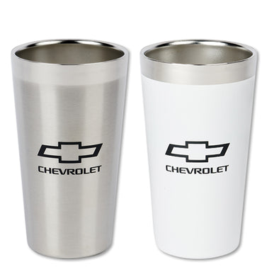 Chevrolet Bowtie Omni Steel Pint