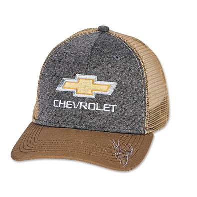 Chevrolet Gold Bowtie Dri Duck Trucker Cap