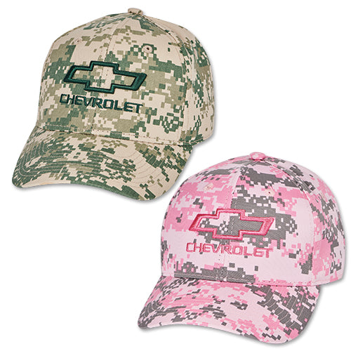 Chevrolet Bowtie Digital Camo Structured Cap