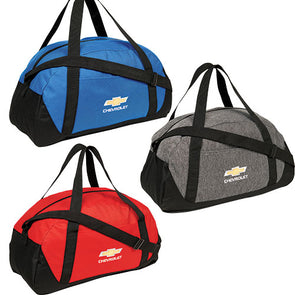 Chevrolet Gold Bowtie Dome Duffel