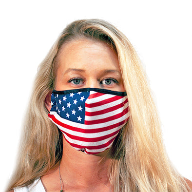American Flag 3-Ply Reusable Mask