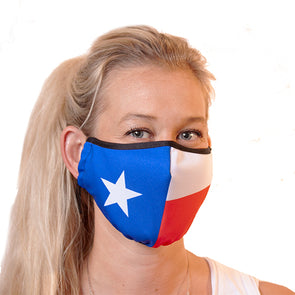 Texas Flag 3-Ply Reusable Mask