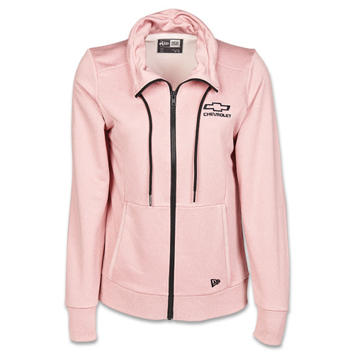 Ladies Chevrolet Bowtie Terry Cowl Full-Zip