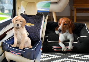 Chevrolet Bowtie Pet Bed And Seat Cover