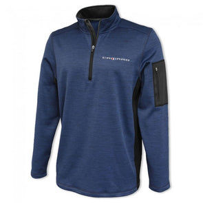 Camaro Roadway Quarter-Zip Fleece - Navy/Graphite
