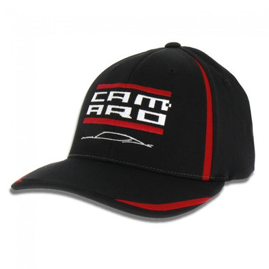 Camaro Performance Accent Cap - Black/Red