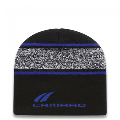 Camaro Knit Beanie -Black/True Royal