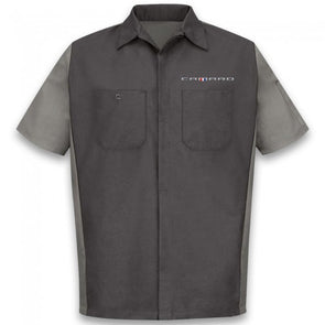 Camaro Short Sleeve Crew Shirt - Charcoal/Gray